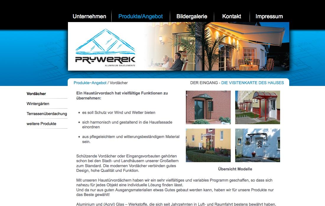 Webseite Erstellen Prywerek Homepage Magdeburg